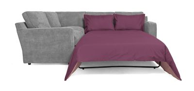 Harveys Sydney Right Hand Facing Corner Sofa Group With Sofabed  Gracey Pewter   Harveys Sofas By You