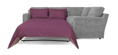 Harveys Sydney Left Hand Facing Corner Sofa Group With Sofabed  Gracey Pewter   Harveys Sofas By You