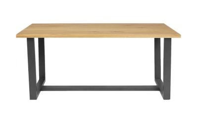 Harveys Bandaro Dining Table black oak