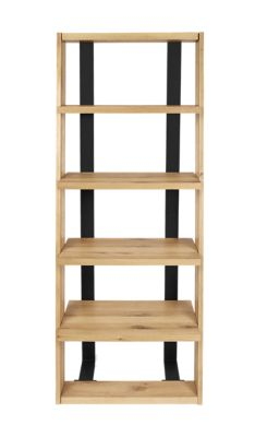 Harveys Bandaro Ladder Bookcase black oak
