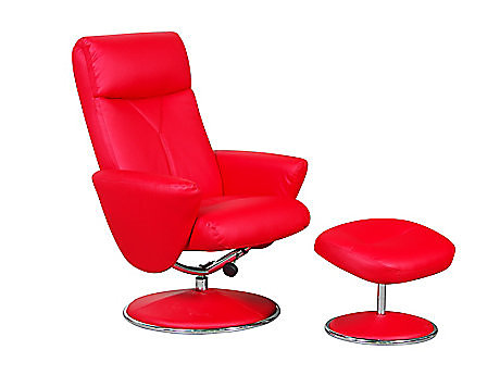 Alizza Relaxer Chair & Footstool
