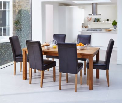 Sierra Dining Table & 4 Bella Chairs