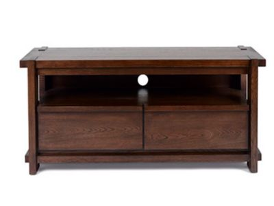 Harveys Claremount Dark Entertainment Unit walnut