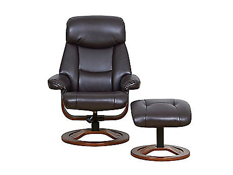 Ledbury relaxer chair with footstool