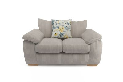 Harveys Cargo Lacey SFF 2 seater pillowback sofa In Cord Varna Harveys Sofas By You
