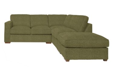 Harveys Cargo Freida Corner Sofa with Footstool Right Hand Facing