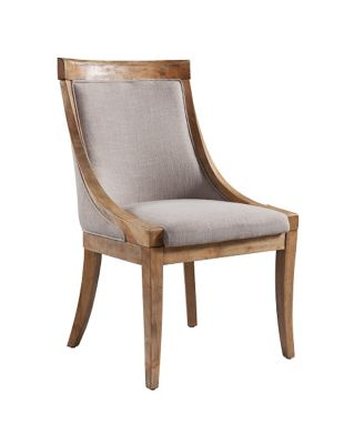 Harveys Edinburgh Upholstered Chair Pair pine