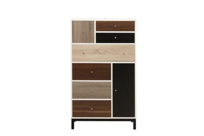 Harveys Maxwell Tall Drawer Unit white