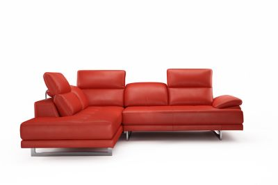 Harveys Thornhill Left Hand Facing Leather Corner Sofa Group With Chaise