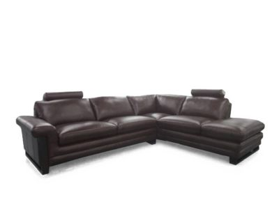 Harveys Montrose Right Hand Facing Leather Corner Sofa Group With Chaise