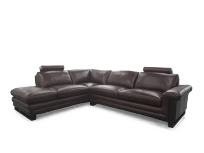 Harveys Montrose Left Hand Facing Leather Corner Sofa Group With Chaise