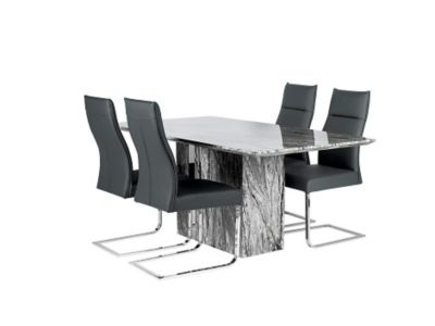 Rovigo Dining Table & 4 Chairs