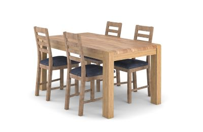 Cargo Portsmore Fixed Dining Table & 6 Victoria Chairs