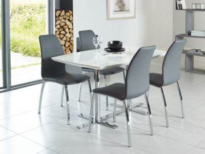 Alaska Dining Table & 4 Chairs