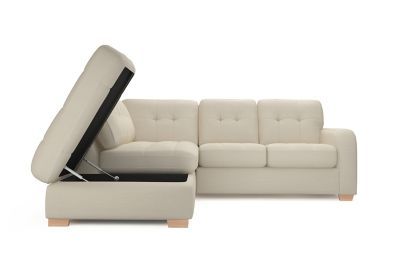 Declan Left Hand Facing Corner Group With Storage Chaise