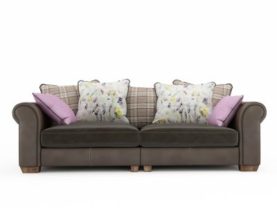 Sipsmith 4 Seater Pillowback Sofa