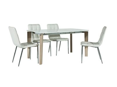 Sadie Dining Table & 4 Chairs