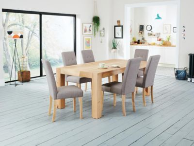 Lindos Dining Table & 8 Lucy Chairs