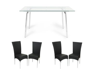 Tilbury Dining Table & 4 Marilyn Chairs