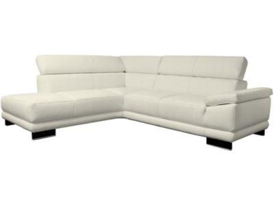 Harveys Aura Left Hand Facing Leather Corner Sofa Group With Chaise
