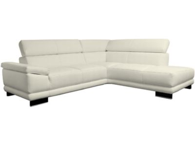 Harveys Aura Right Hand Facing Leather Corner Sofa Group With Chaise