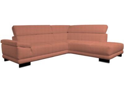 Steinpol Aura Right Hand Facing Leather Corner Sofa Group With Chaise