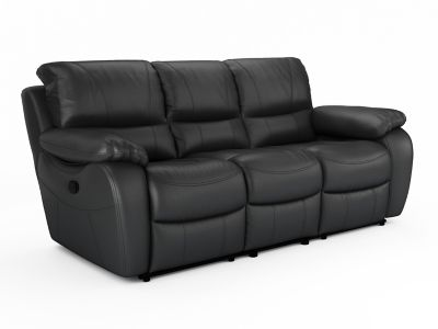 Bel Air Leathaire 3 Seater Sofa Recliner