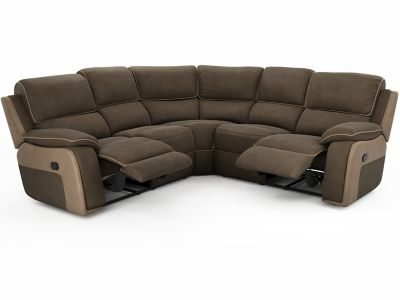 Harveys Holden Express Large Manual Recliner Corner Sofa Group