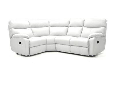 Harveys Bailey Right Hand Facing Corner Sofa Group With 2 Manual Recliner Actions  Leather