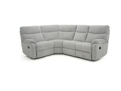 Harveys Bailey Right Hand Facing Corner Sofa Group With 2 Manual Recliner Actions  Pacific Fabric