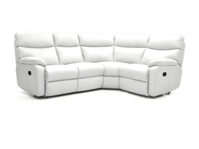 Harveys Bailey Left Hand Facing Corner Sofa Group With 2 Manual Recliner Actions  Leather