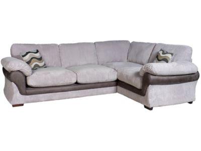 Harveys Lullabye Left Hand Facing Standard Back Corner Sofa Group With Encore Seat Upgrade