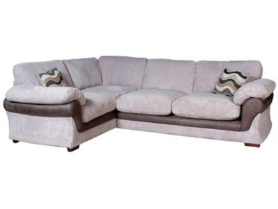 Harveys Lullabye Right Hand Facing Standard Back Corner Sofa Group With Encore Seat Upgrade
