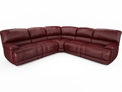 Harveys Guvnor Large 2 Chair End Corner Sofa Group With 2 Manual Recliner Actions