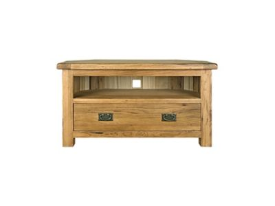 Harveys Toulouse Corner entertainment unit oak