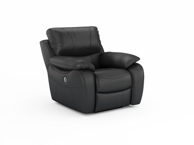 Harveys Bel Air Leathaire Electric Recliner Chair