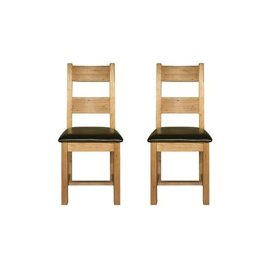 Toulouse Wooden Chair (Pair)