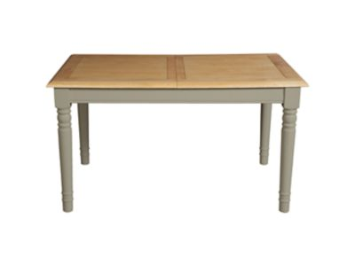 Harveys Cargo Hartham Extending Dining Table Grey grey