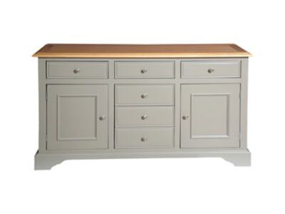 Harveys Cargo Hartham Large Sideboard Grey grey