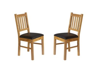 Brookes Wooden Chairs (Pair)