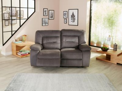 Harveys Kinman Express 2 Seater Sofa With 2 Manual Recliner Actions