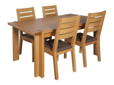 harveys oak dining table and chairs images