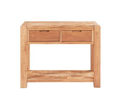Harveys Cargo Portsmore Console Table oak