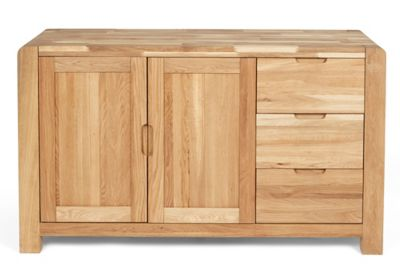 Harveys Cargo Portsmore Sideboard oak