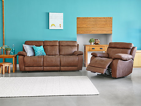 Whitby 3 Seater Recliner Sofa