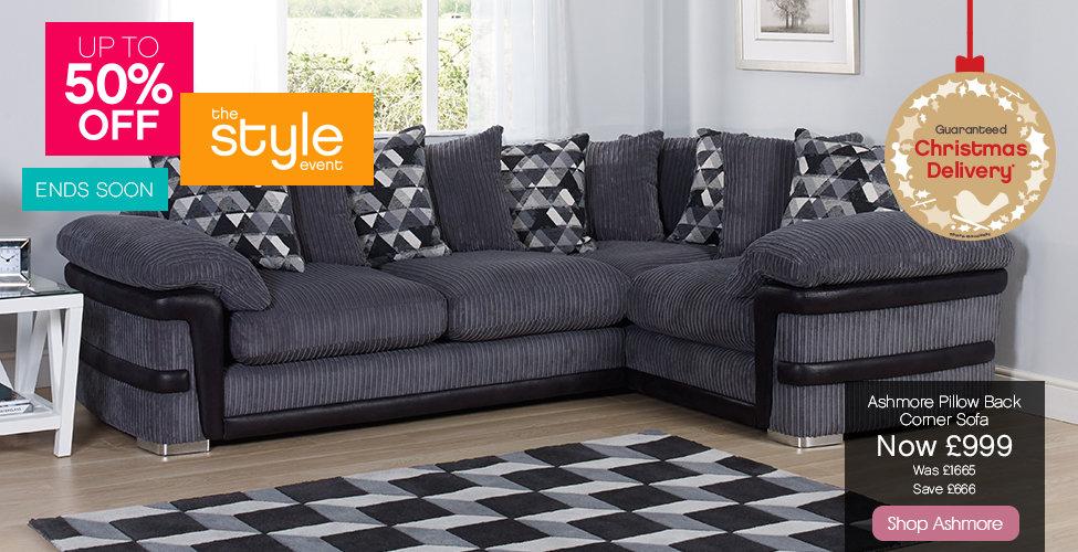 Harveys Style Event - Ashmore Sofa