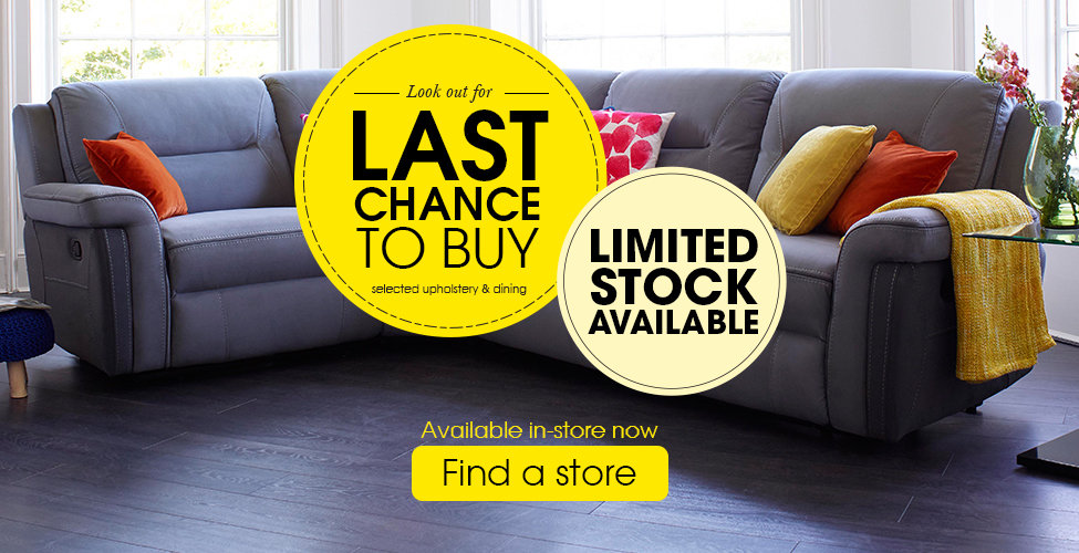 Harveys Last Chance To Buy - Find A Store
