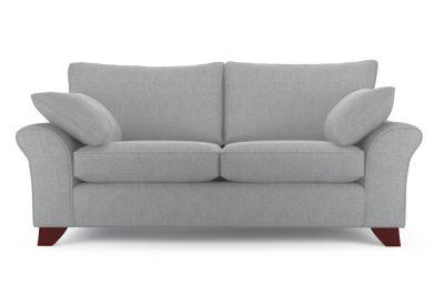 Harveys Cargo Grayson 3 Seater Sofa - SRC Quentin Grey Express  - Harveys Sofas By You