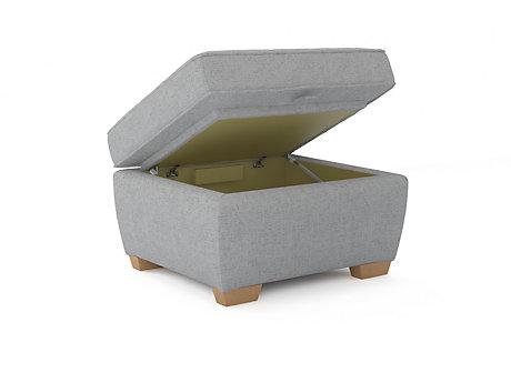 Cargo Grayson Storage Footstool