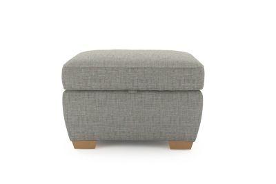 Harveys Cargo Grayson Storage Footstool  - Harveys Sofas By You